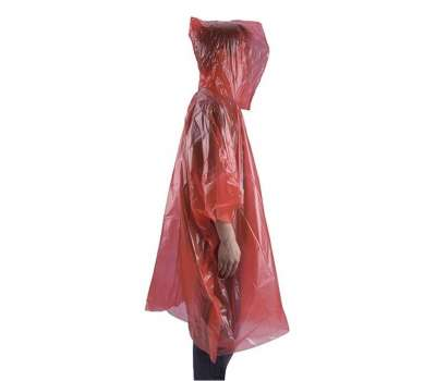 AceCamp пончо Emergency Rain Poncho red