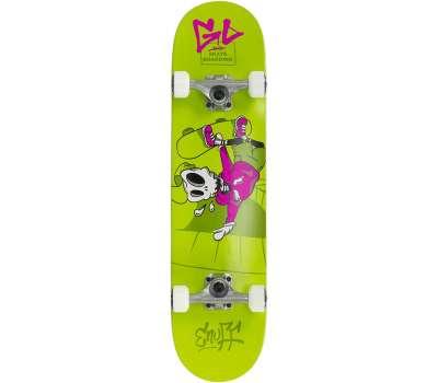 Enuff скейтборд Skully green