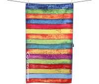 Полотенце Lifeventure Soft Fibre Printed Striped Planks Giant