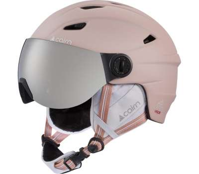 Cairn шлем Electron Visor SPX3 powder pink