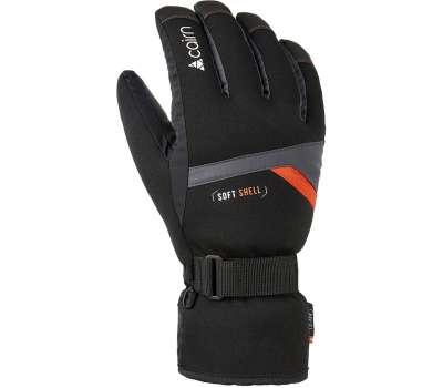 Cairn перчатки Styl Jr graphite-scarlet