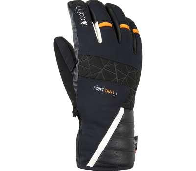 Cairn перчатки Summit black-neon orange