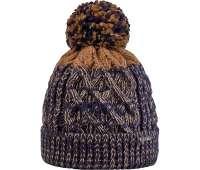 Cairn шапка Damien navy-light brown
