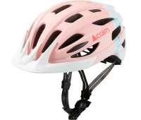 Шлем  велосипедный с маячком Cairn  Fusion pastel-pink