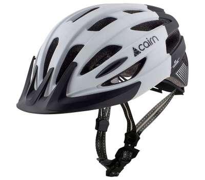 Cairn шлем Fusion white-black