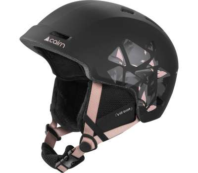 Cairn шлем Meteor black powder-pink leaf 57-58