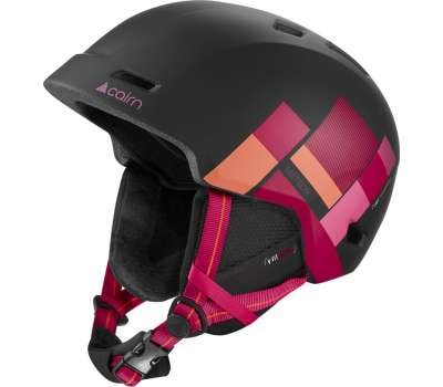 Cairn шлем Meteor mat black-fuchsia piet