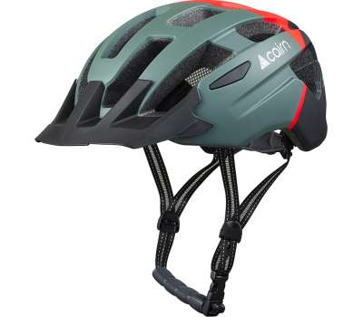 Cairn шлем Prism XTR II forest bright-red
