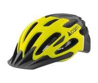Шлем  велосипедный для начинающих Cairn Prism XTR yellow-black