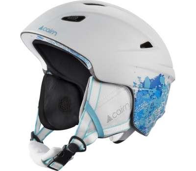 Cairn шлем Profil white-mat blue shade flower 57-58