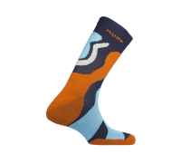 Носки TRAMUNTANA оранж-голуб разм. M