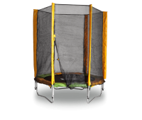 Батут KIDIGO 140 см. с защитной сеткой (61004)