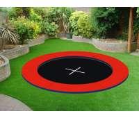 Грунтовой батут  KIDIGO Circle 2,4х2,4 (221521)