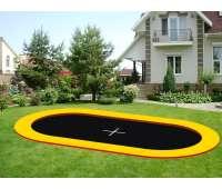Грунтовой батут KIDIGO Oval 4,4х2,4 (221522)