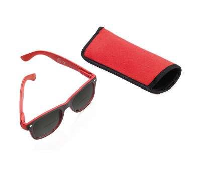 """Cолнцезащитные очки красные """"CDU SUN"""" +1.00 Dpt"""