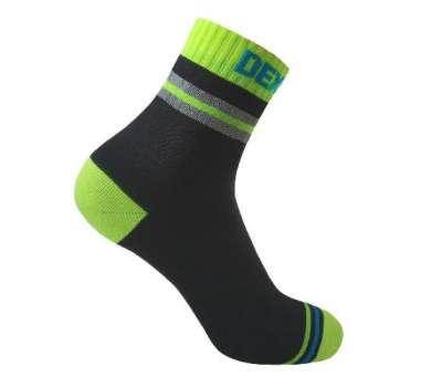 Dexshell Pro visibility Cycling S 36-38 Шкарпетки водонепроникні  з зеленою смугою