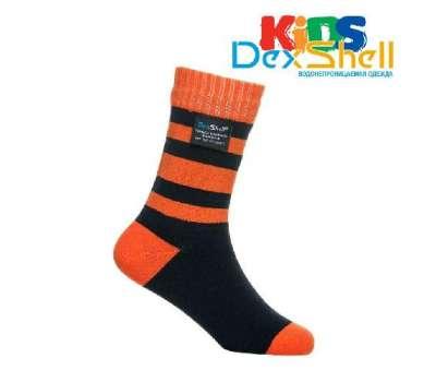 Dexshell Children soсks orange M Шкарпетки водонепроникні  для дітей помаранчеві