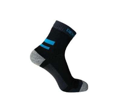 Dexshell Running Socks XL Шкарпетки водонепроникні  з блакитними смугами