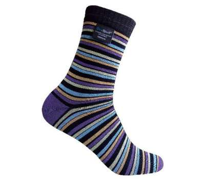 Dexshell Ultra Flex Socks Stripe L шкарпетки водонепроникні  в смужку