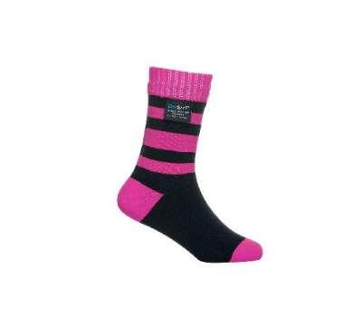 Dexshell Children soсks pink M Шкарпетки дитячі водонепроникні  рожеві