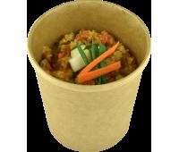 Горохова каша з овочами Happy Elk прозора упаковка