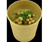 Грибний крем-суп Happy Elk прозора упаковка