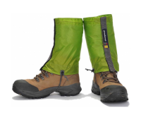 Бахилы короткие Green Hermit Ultralight Running gaiter, размер S, цвет зеленый