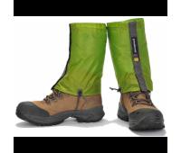 Бахилы короткие Green Hermit Ultralight Running gaiter, размер L, цвет зеленый
