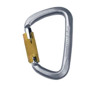 Карабин D Steel Triple Lock Singing Rock
