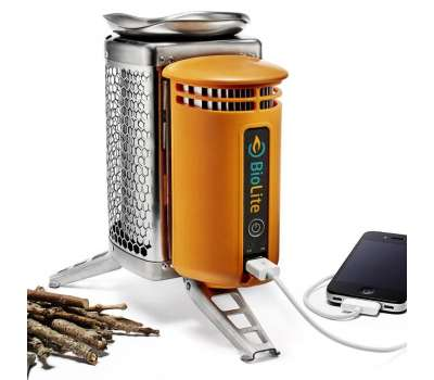 картинка Горелка-зарядка на дровах Campstove Biolite