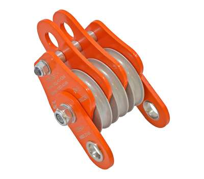 Полиспаст-блок «Промальп 3+» алюминиевый Крок