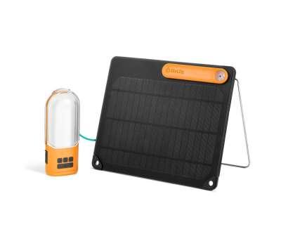 Солнечная панель + фонарь PowerLight Solar Kit Biolite<br />